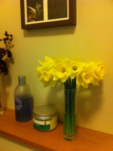 Fresh Daffodils in the house.
