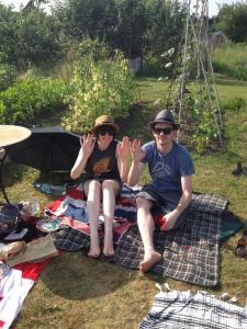 Jen & Dan say hi!